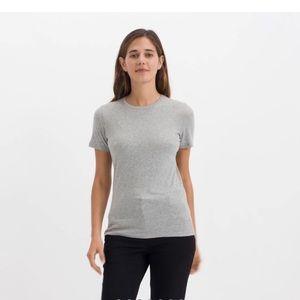 Everlane Grey Crew Neck T-shirt